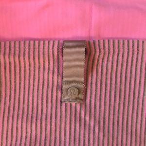 Lululemon Vinyasa Scarf Vintage Pink Stripe